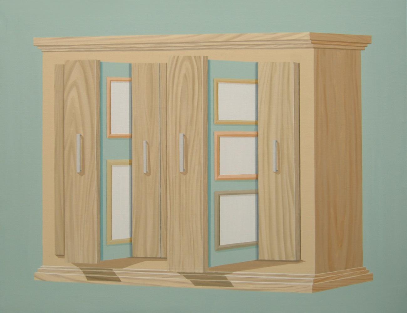 "GloriaMartín. ""Collection Privée"" 2010. Acrílico sobre lienzo. 100x81cm."