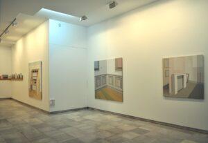 """GloriaMartín. Vista de la exposición """"Voz Hueca"""", Galería Birimbao, Sevilla, Abril 2011. GloriaMartín. Vista de la exposición """"Voz Hueca"""", Galería Birimbao, Sevilla, Abril 2011."""