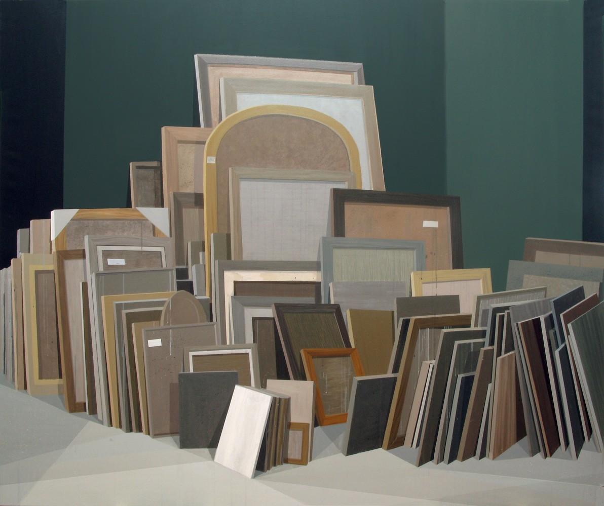 "GloriaMartín. ""Tesoro"" 2013. Acrílico sobre lienzo. 162x195cm."
