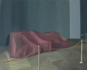 "GloriaMartín. ""Temps de guerre I"" 2014 Óleo sobre lienzo 41×33 cm"