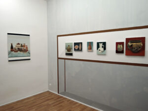 """Gloria Martín. """"Cerámica Pintada"""" Galería Silvestre. Madrid. Noviembre de 2016"""