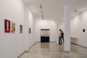 """Vista de la exposición """"Bien de Interés Cultural"""" Galería Birimbao, Sevilla, Marzo 2017"""