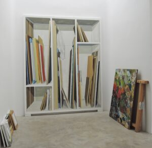 """GloriaMartin. Vista de """"Modelo y Modo"""" Galería Silvestre. Febrero-Abril 2019."""