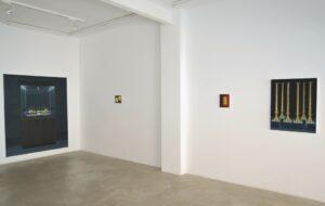 """GloriaMartin. Vista de la exposición """"ORO"""" Galería Silvestre, Tarragona, Abril 2017"""