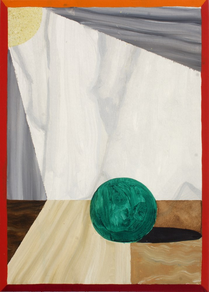 "GloriaMartin. ""Bodegón del mármoles"" Óleo sobre papel 29x21cm"
