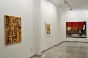 "GloriaMartin. Vista ""De varia commesuración"". Galeria Birimbao. Sevilla. Enero-Febrero 2020."